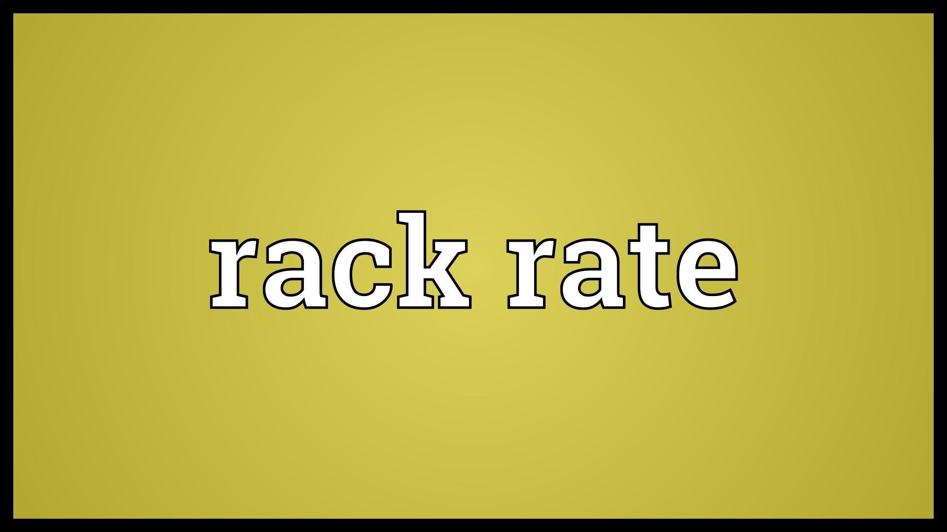 rackrate